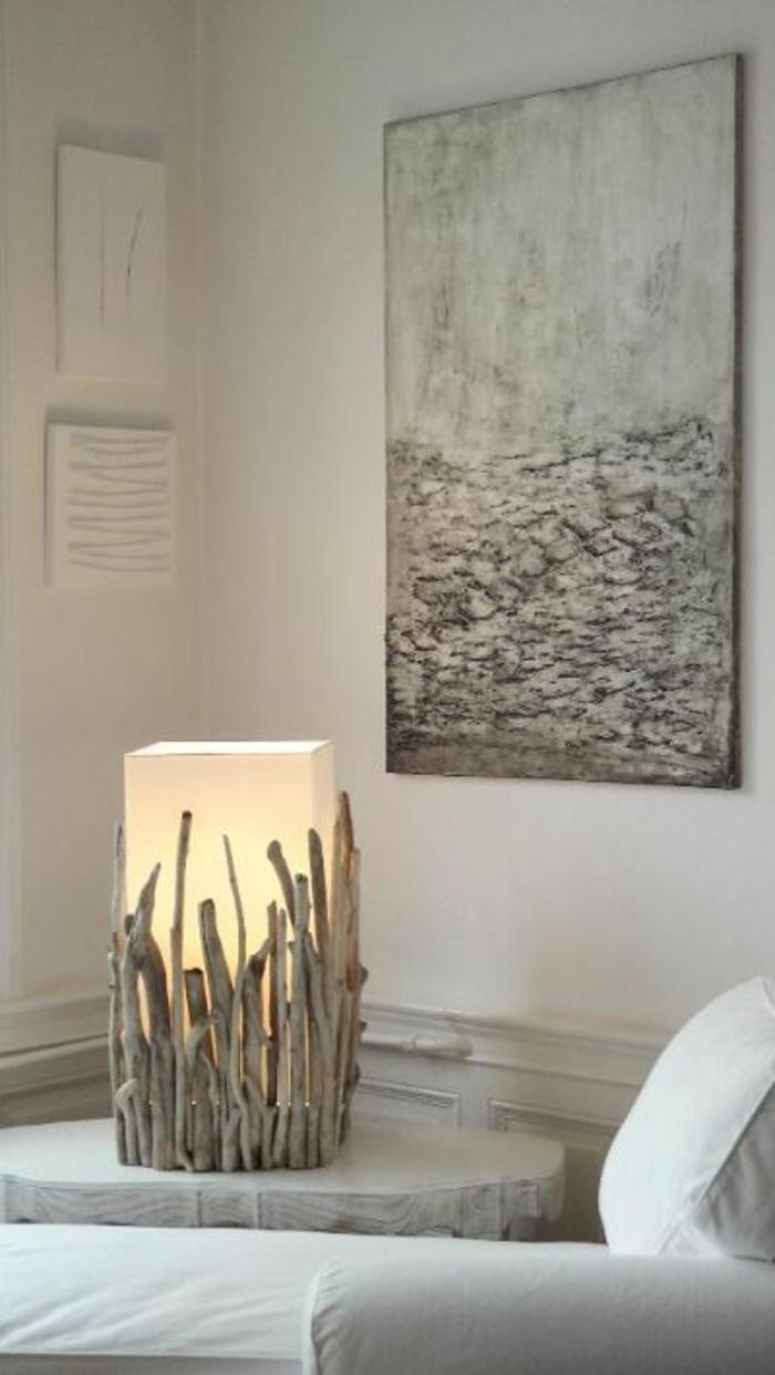 maritime lampe selber machen basteln mit treibholz
