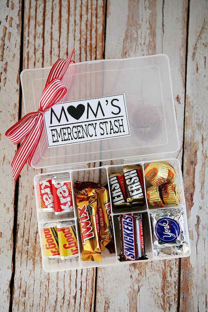 Was Mutti dringend braucht, wenn die Kinder sie ärgern - Süßigkeiten
