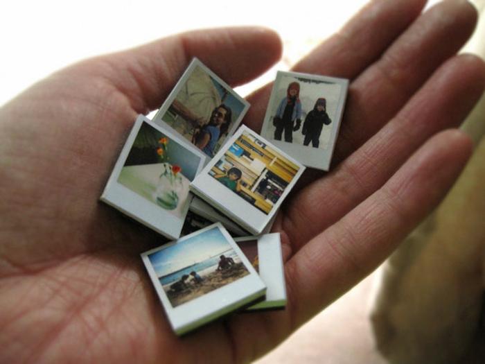 die Ersatzteile dieser Kette zur Abwechslung mit Fotos von Kindern