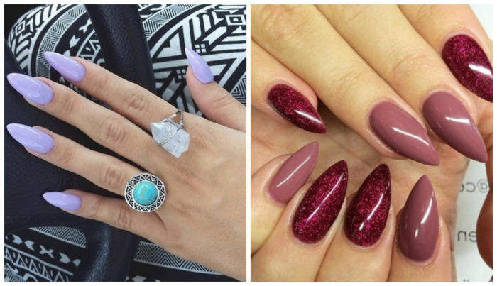 130 Ideas For Pointed Nails The Length Is Important Here