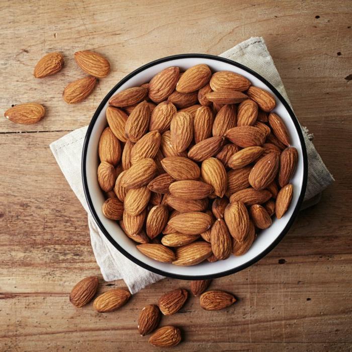 natürliche appetitzügler mandeln gelten als superfood natürliche fiber gesundes herz helfen gege schlaflosigkeit