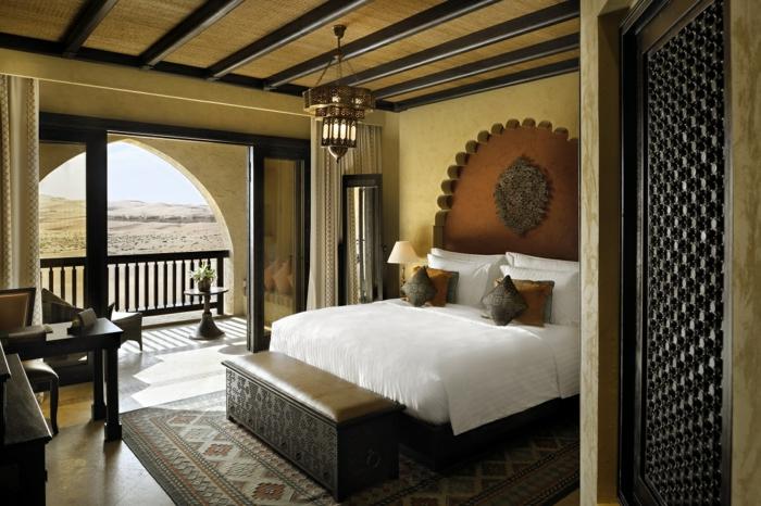 orientalisch einrichten das zimmer in einem hotel in den arabischen ländern einfaches zimmer design bettdeko