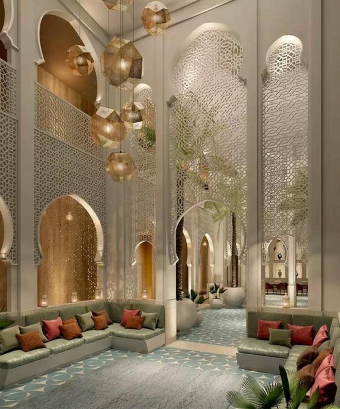 orientalische dekoration großzügig und exotisch luxuriös reich reichtum luxus schönheit mystik und authentizität