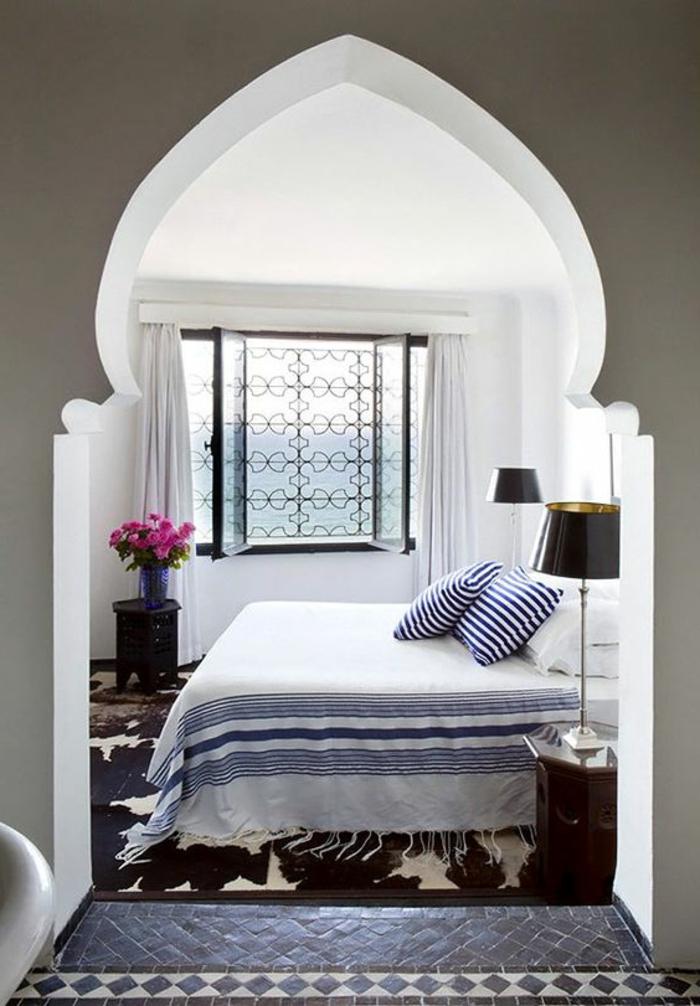 ▷ 130 + ideen für orientalische deko - luxus pur in ihrer wohnung - Schlafzimmer Ideen Deko Bettdecken