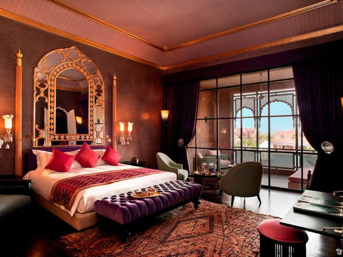 orientalisches zimmer dekoration und einrichtung einzigartig terasse design ideen persischer teppich