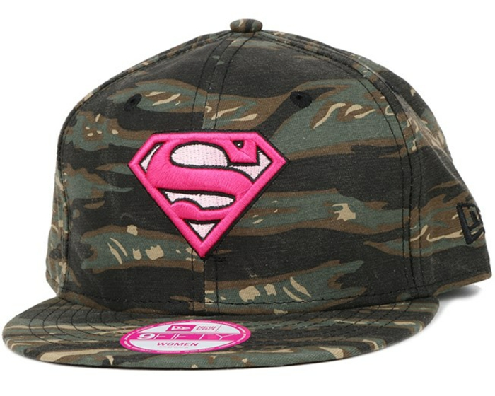 kappen supergirl superkräfte hut kappe fitted cap für junge frauen teenager outfit ideen