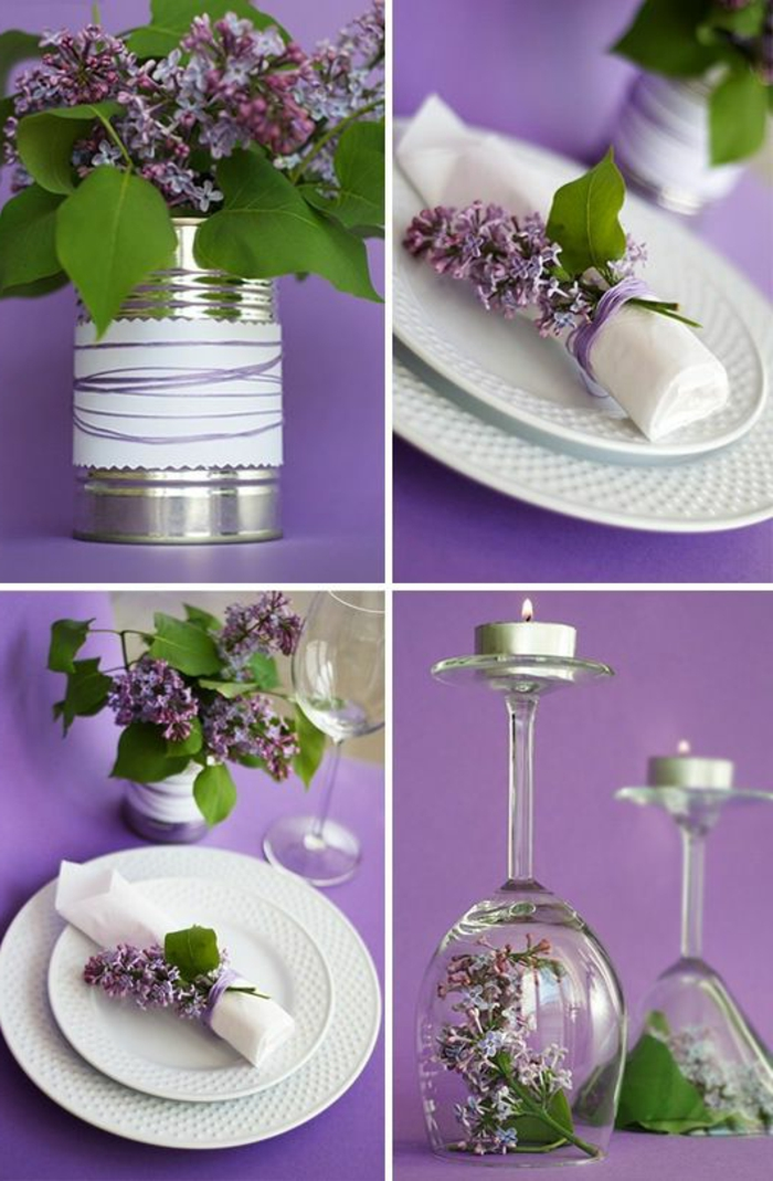 1001 ideen wie sie eine elegante tischdeko selber machen - Tischdeko geburtstag selber machen ...