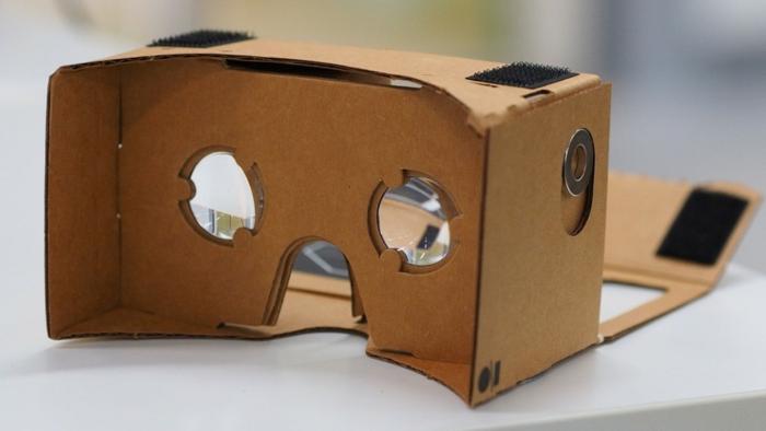 ier finden sie eine tolle idee zum thema vr brille selber bauen - vr brille aus pappe und kleine okulare