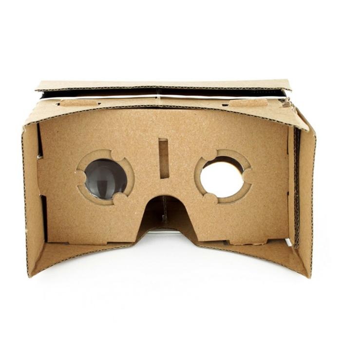hier finden sie eine idee für vr brille aus pappe mit zwei kleinen okularen
