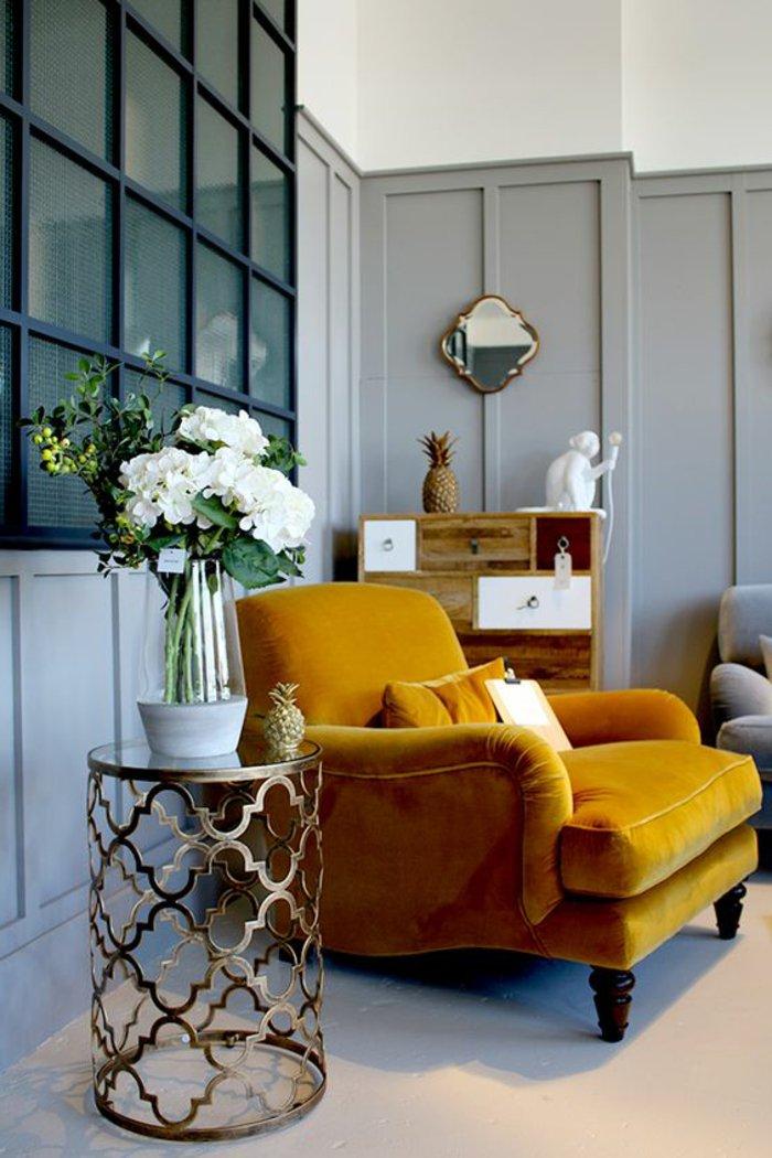 1001 ideen in der farbe perlgrau zum inspirieren for Kleiner sessel grau