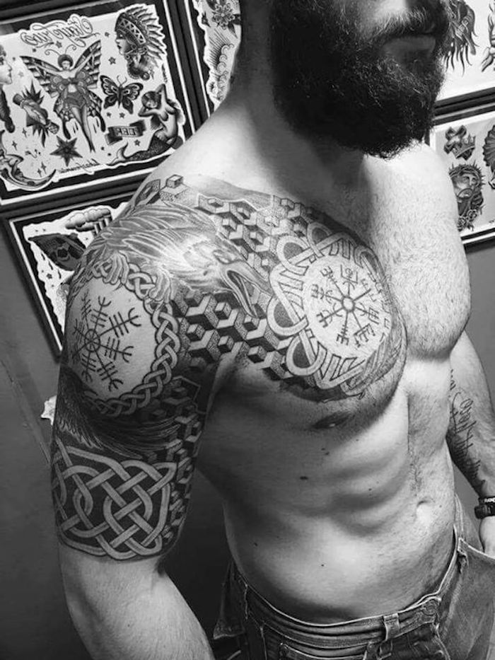 Mann unterarm armband tattoo ▷ Armband