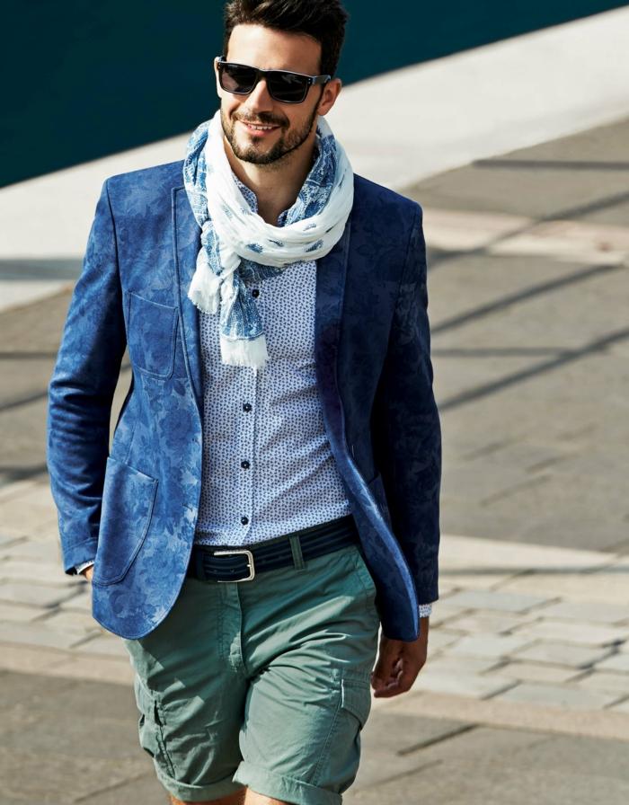 lässig-elegantes Outlook Herrenmode Trend Sommer