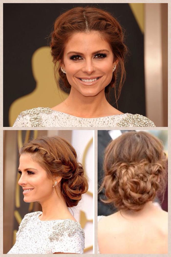 Drei Fotos von einer Frisur zum Nachmachen - Brautjungfern Frisuren