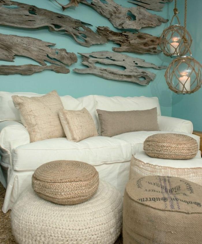 deko holz ideen für schöne wandgestaltung wanddeko aus natürlichen elementen holz deko