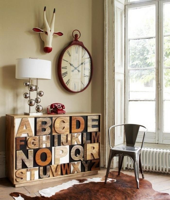 100 ideen f r faszinierende deko aus holz schmuck von der natur. Black Bedroom Furniture Sets. Home Design Ideas