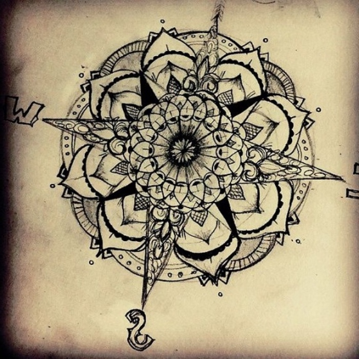 142 inspiring compass tattoo ideas!