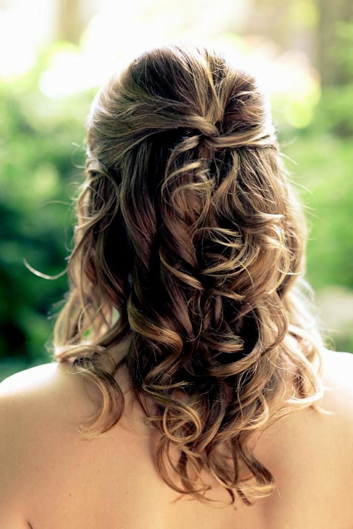 Frisuren hochzeit schlicht