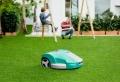 Pflegeleichter Garten mit Mähroboter