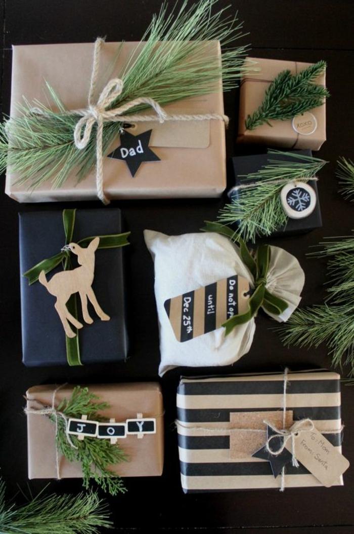 Weihnachtsgeschenke mit weihnachtlichen Motiven für die ganze Familie - Geschenke verzieren