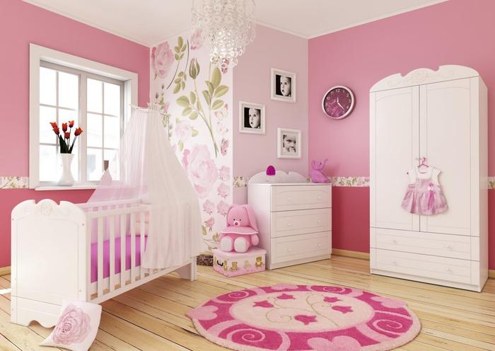 Babybett Mit Himmel Praktisch Und Gleichzeitig Wunderschon