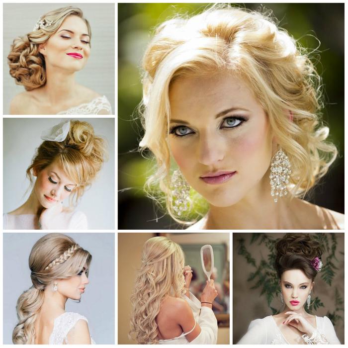 eine Menge kreative Frisuren für jede einzelne Brautjungfer - Hochzeit Frisuren