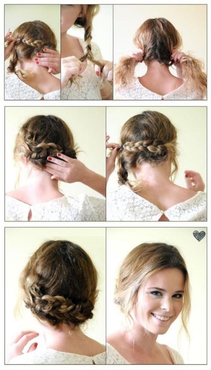 eine leichte Anleitung für die perfekte geflochtene Frisur mit in Ombre Look