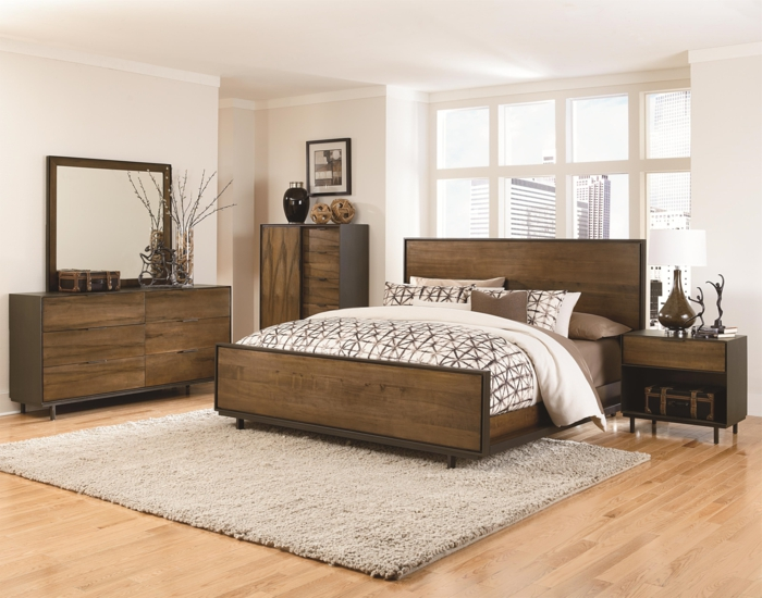 100 ideen f r faszinierende deko aus holz schmuck von der natur. Black Bedroom Furniture Sets. Home Design Ideas