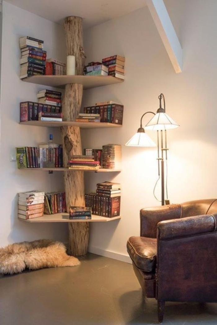 bibliothek für das zuhause deko ideen bücherregale zum schönen und komfortablen zuhause idee