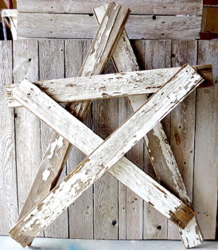 holz deko für draußen sterne aus holz basteln bastelidee zum gestalten dekorationen deko stern gestaltung