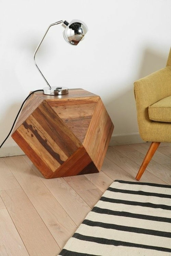 holz deko für draußen holzdeko dekoideen tisch aus holz dekoideen stehlampe teppich stuhl sessel