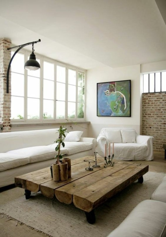 holztisch hölzerne möbel und dekorationen in einem landhaus landhausdeko ideen gestaltung lampe design