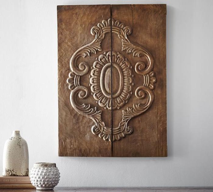 gekoration selber mache deko gravieren holz bild kunstwerk vase gestaltung ideen schöne elemente