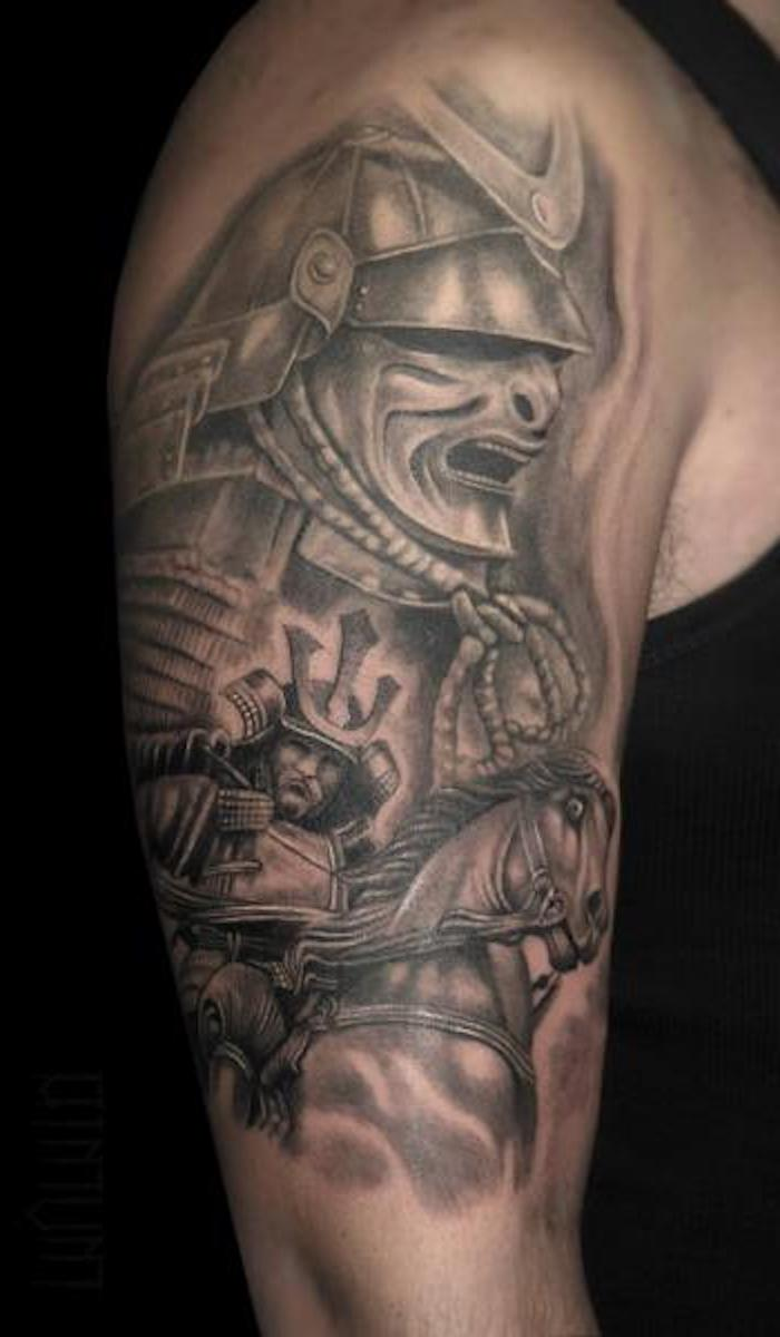 kämpfer, krieger, pferd, maske, helm, ausrüstung