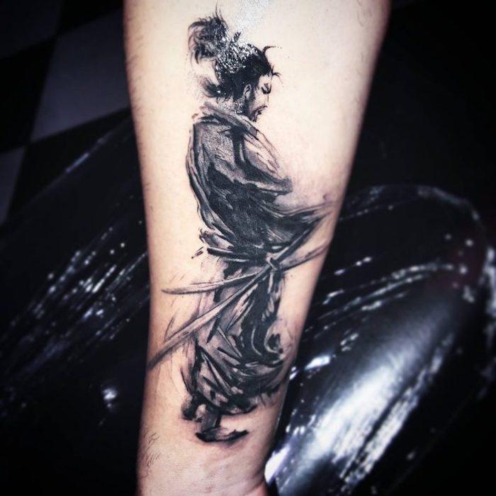 Over 100 amazing samurai tattoo ideas