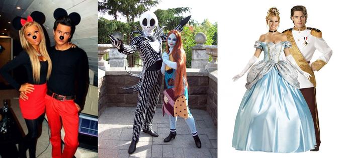 Helden aus der Kindheit Kostüme für Paare - von Prinz und Prinzessin bis zwei Ungeheuer