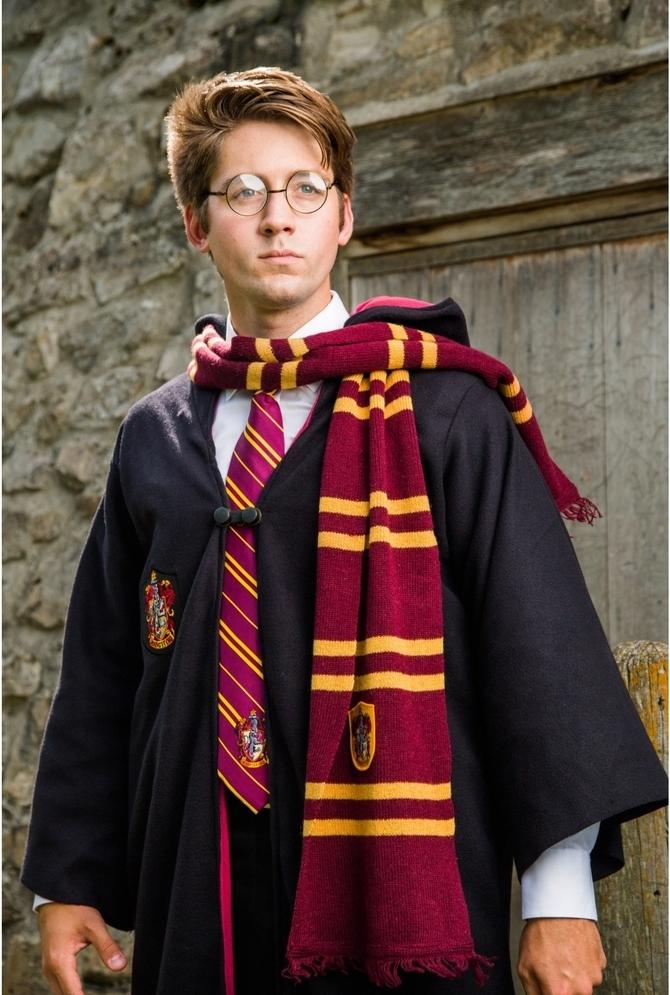 Harry Potter Kostüm für Mottowoche Kindheitshelden das ganze nützliche Zubehör