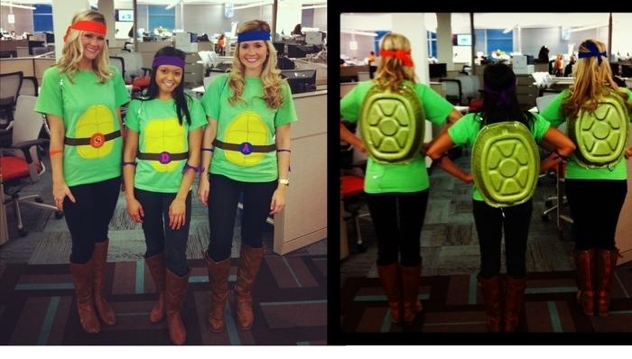 Mottowoche Kindheitshelden drei von dem Ninja Schildkröten auch für Mädchen geeignet