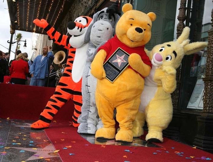 Pu der Bär und die anderen Helden sind schon Stars - Kindheitshelden Kostüme