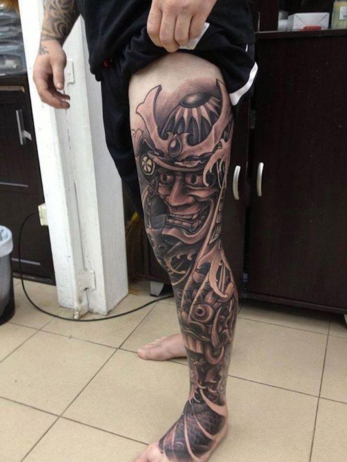 1001 Coole Und Effektvolle Samurai Tattoo Ideen