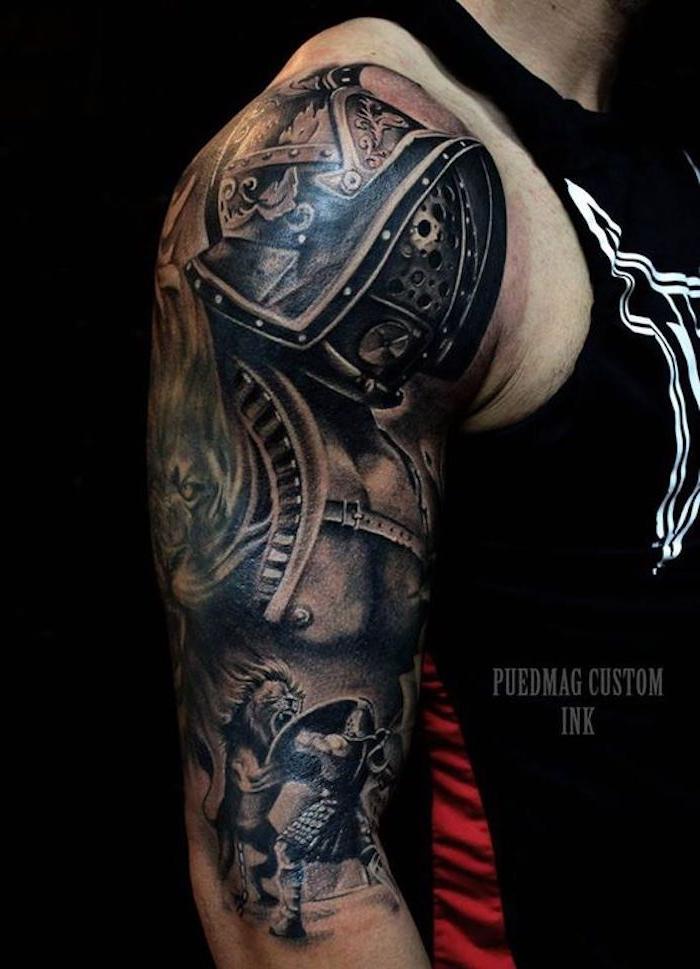Tattoos für männer oberarm innen