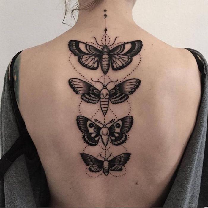 1001 Faszinierende Ideen Für Weibliche Rücken Tattoos