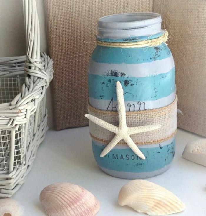 Fensterdeko für den Sommer Deko-Objekte selber basteln maritim