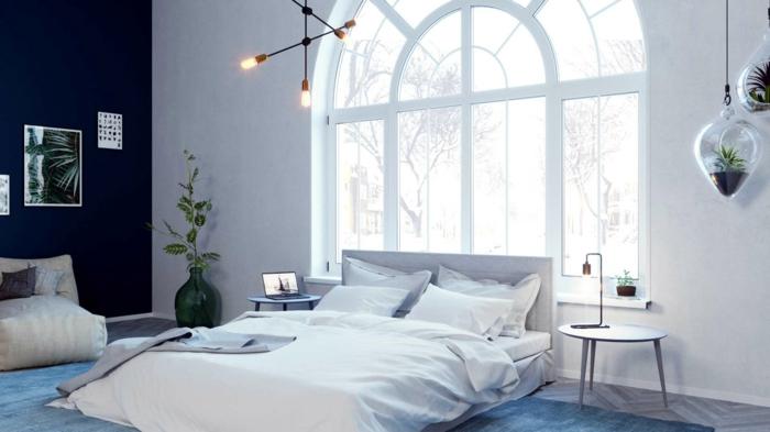 Design-Schlafzimmer Einrichtungsidee Schallschutz und Halldämmung
