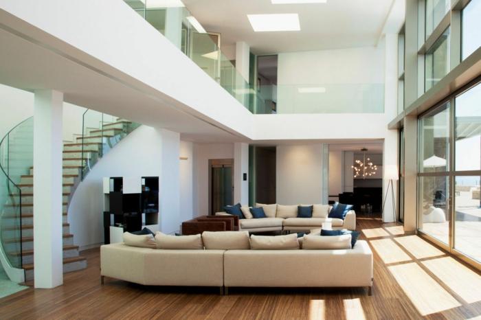 Raumakustik verbessern weiträumiges Zimmer Hall reduzieren