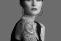 Blackwork Tattoo für mutige und selbstbewusste Leute