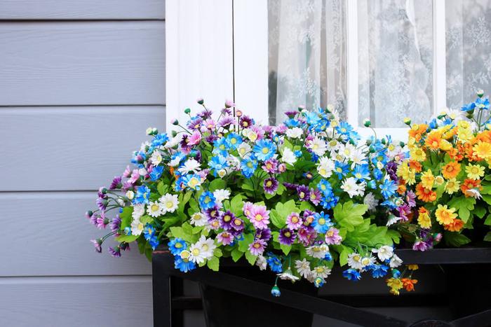 schöne bunte Blumen am Fenster, den Balkon bepflanzen- nützliche Tipps und Ideen