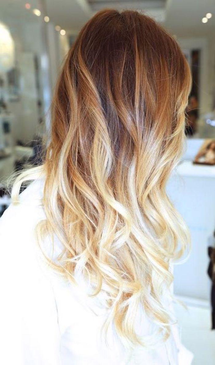 1001 Ideen Für Ombre Blond Frisuren Top Trends Für Den Sommer