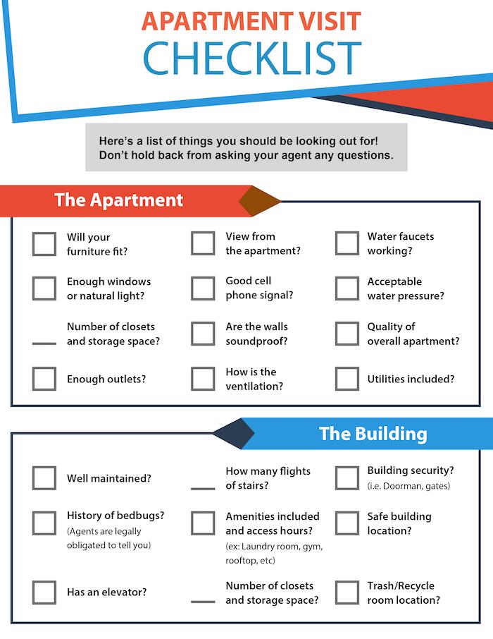 Checkliste Wohnungsbesichtigung, Wohnung, Gebäude, Baujahr, Alt- und Neubau