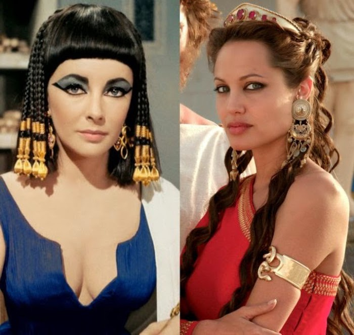 kostüm ägypten ideen von angelina jolie schauspielerinnen die die rolle von cleopatra spielten