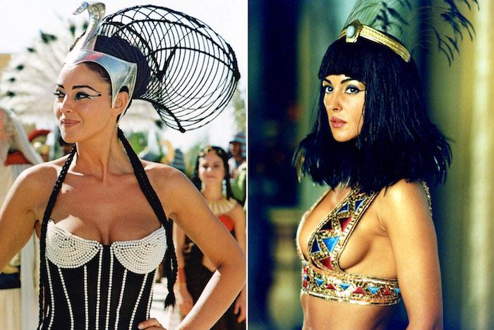 kostüm ägypten ideen und inspirationen von den filmen über cleopatra schauspielerinnen
